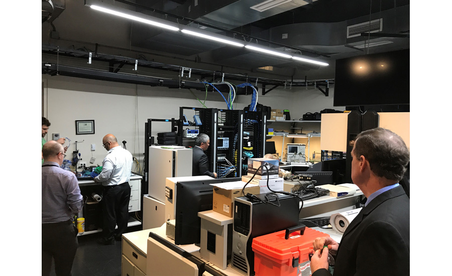 Testing lab Anixter Media Day SDM October 2017