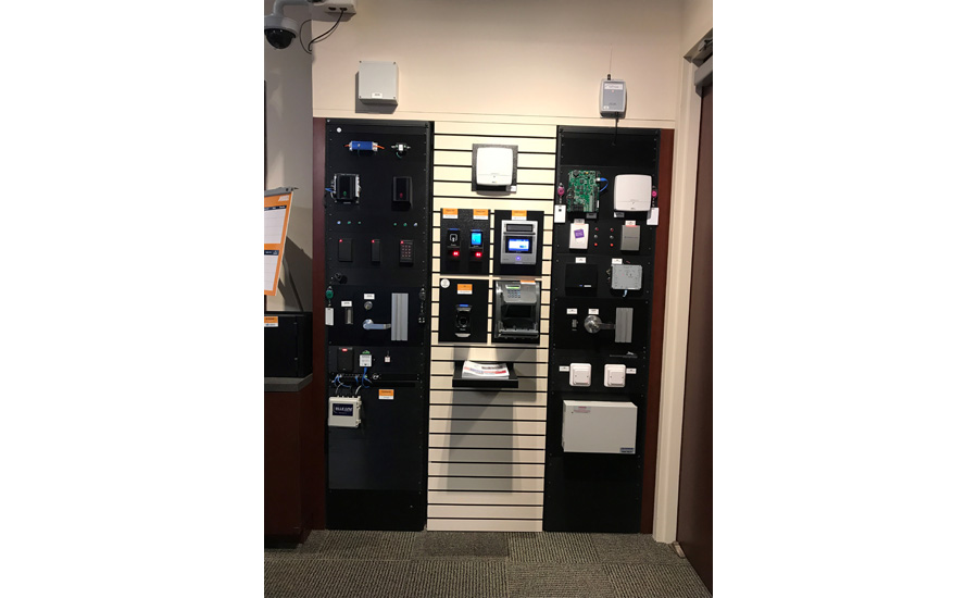 Access Control Wall Anixter Media Day SDM October 2017