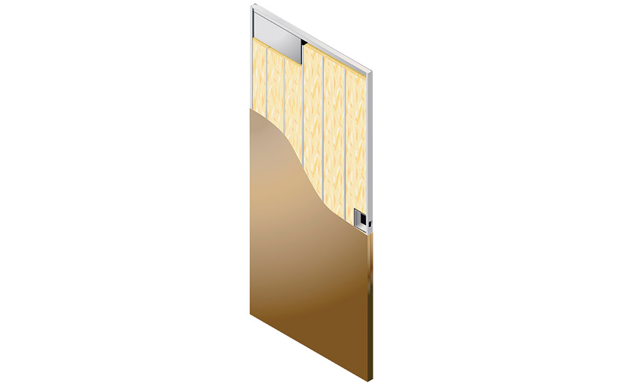 ASSA ABLOY has introduced the Trio-E door