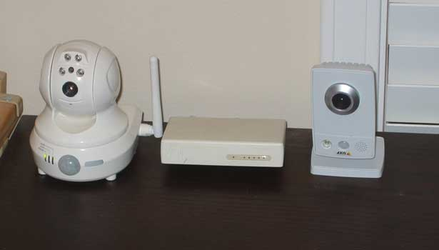 Security Camera Testing Setup