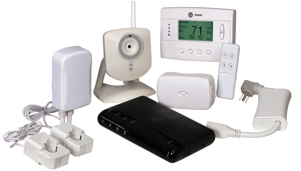 Home monitoring and control kit