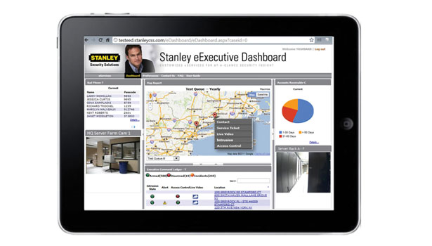 Stanley eExecutive Dashboard