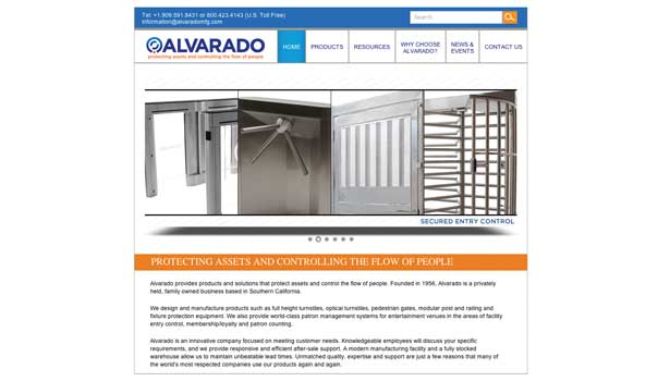 Alvarado Website