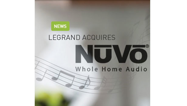 Legrand Acquires NuVo Technologies