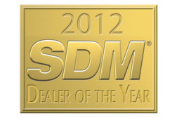 SDM Dealer of the Year logo