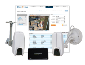 CheckVideo® Low Profile Mobile Sentry (CMS1200)