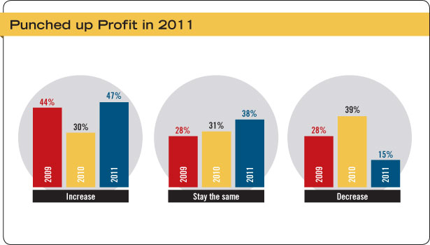 Security Systems Integrator Profit Graph