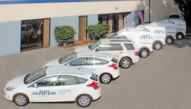 RFI, which operates a fleet of 111 vehicles, recently switched to Ford Transit Connect vehicles to improve fuel economy