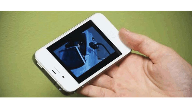 Smartphone using video