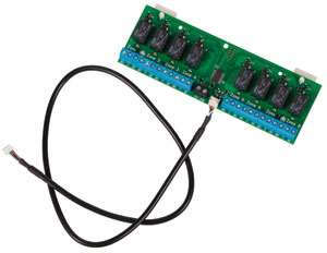 8-ZONE RELAY BOARD