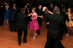 People dancing at SDM 100 Gala