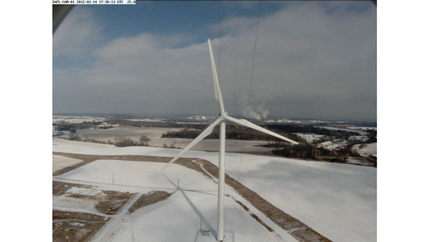 Video Eolos Wind Energy Research Consortium project screen