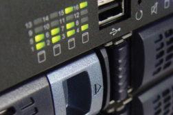 Close up of video storage