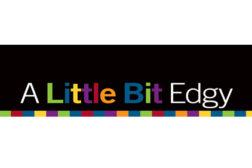 A little bit edgy logo