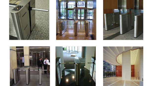 A variety of optical turnstiles