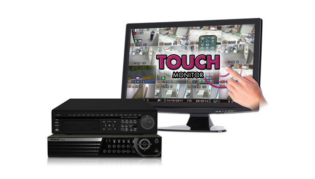 Digimerge touch monitor