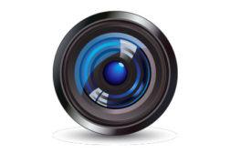 Security camera lens
