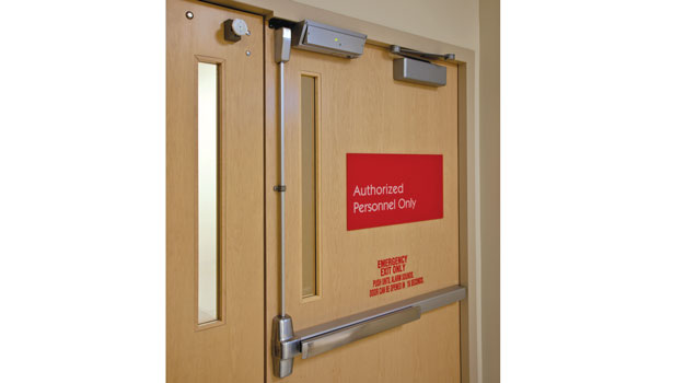 mag locks are often used on glass doors or double doors that donu0027t have a frame to cut a strike into
