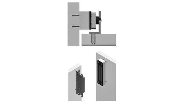 Mag locks are ideal for glass doors and doors that are in less-than-great condition