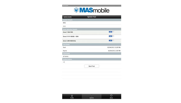 MASmobile, an app that gives its alarm dealers access to their accounts on-the-go