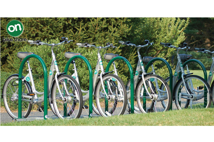 new bike-sharing program from On Bike Share at Wellesley College