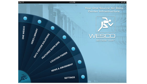 WESCO Launches Data Center App for iPad