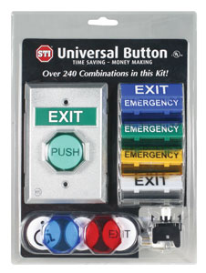 Universal Button (UB-1) from Safety Technology International Inc.