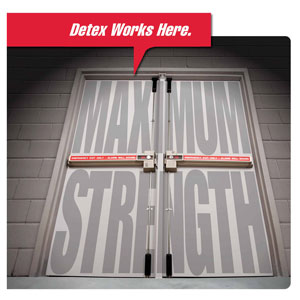 Detex Corp.'s high-security life safety door hardware systems
