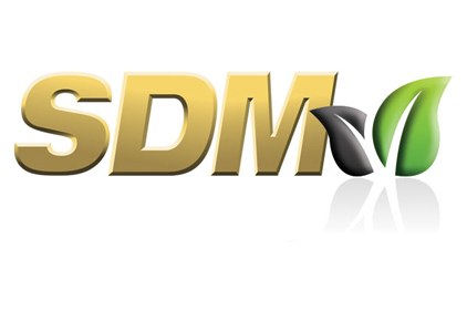 SDM with leaf logo