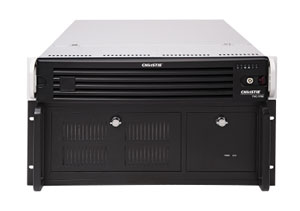 Christie Entero 70-in. video wall display cube and TVC-1700 video wall processor