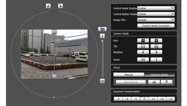 Canon offers a tool that allows settings to be adjusted from anywhere comings and goings
