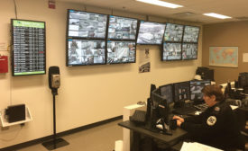 Quebec City Airport Security and Emergency Operations Center