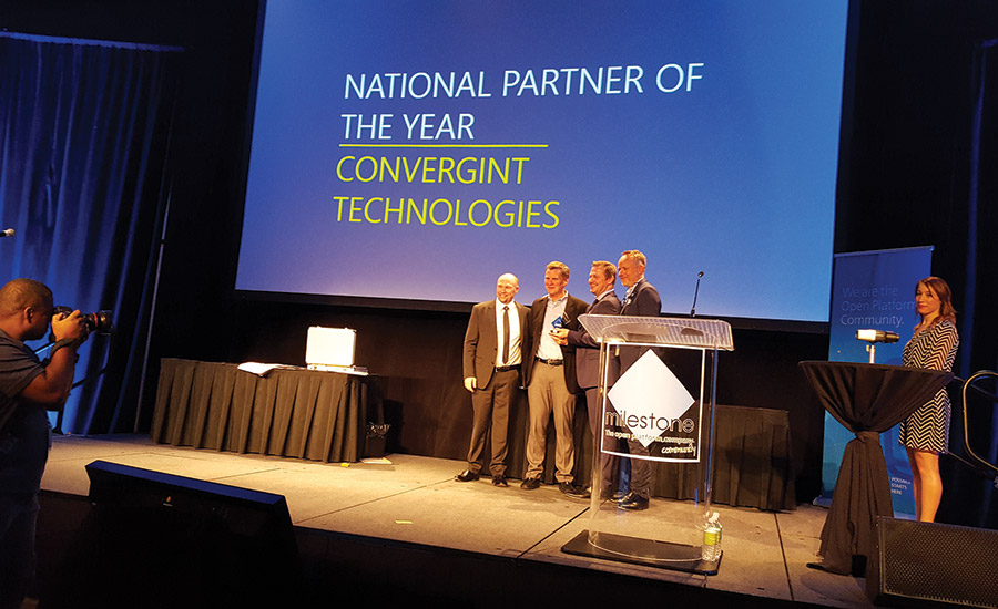 MIPS conference: Convergint Technologies as National Partner of the Year