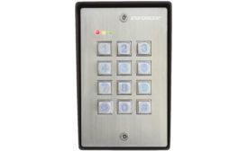SK-1123-SDQ vandal-resistant outdoor access control keypad