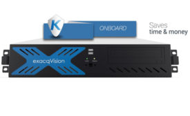 The exacqVision NVR with Kantech EntraPass Corporate Edition access control system