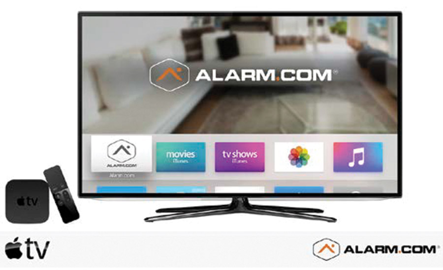 Alarm.com Launches App For Apple TV