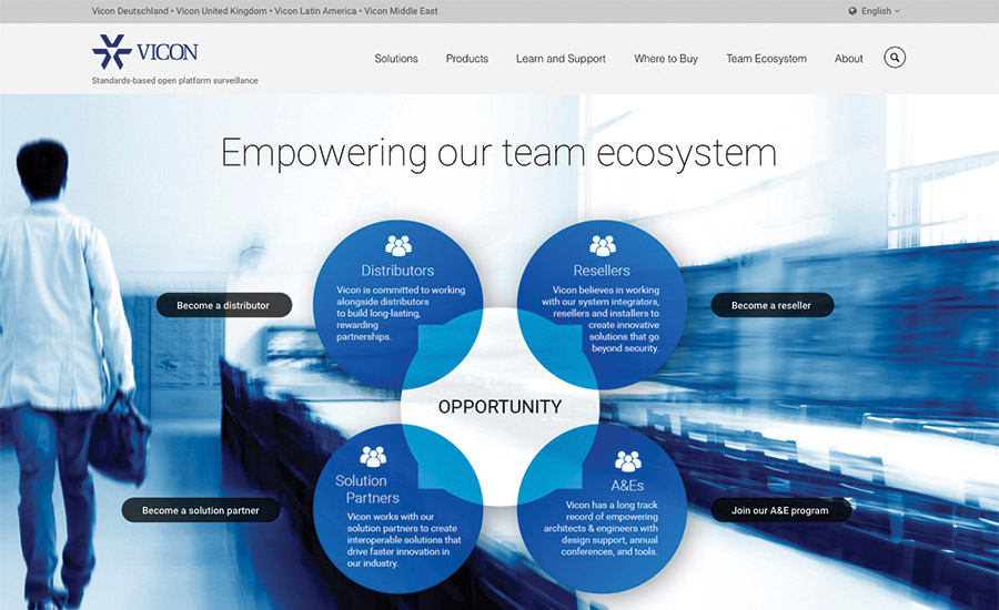 Vicon Unveils Redesigned Website