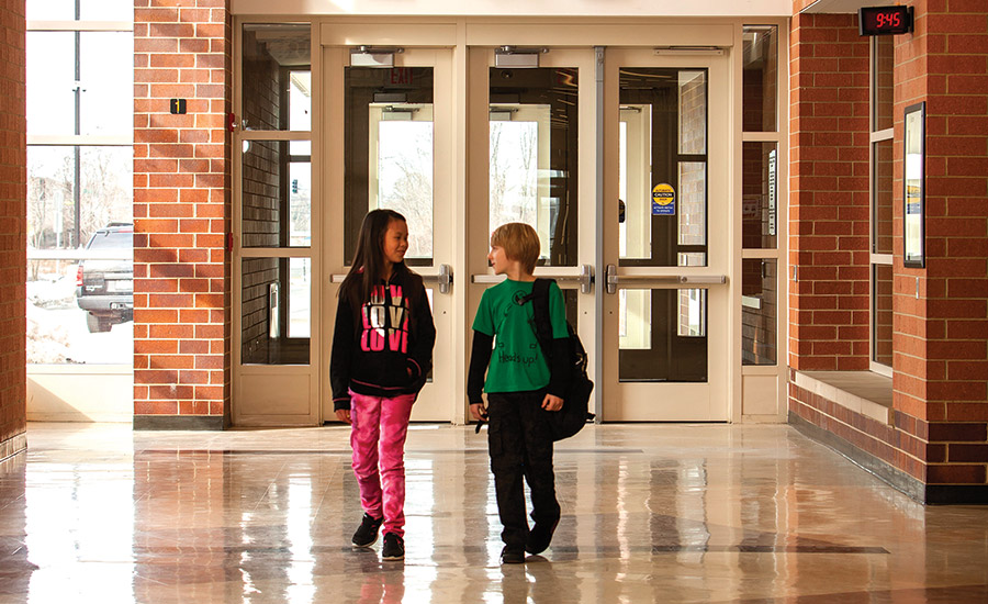 Allegion; education sector security, security systems