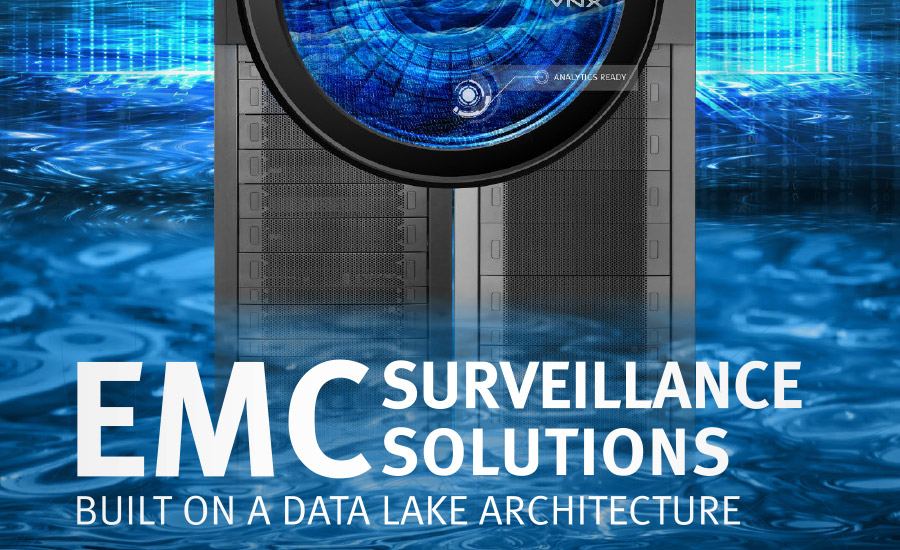 EMC Surveillance Solutions; video storage, cloud storage, security integrators
