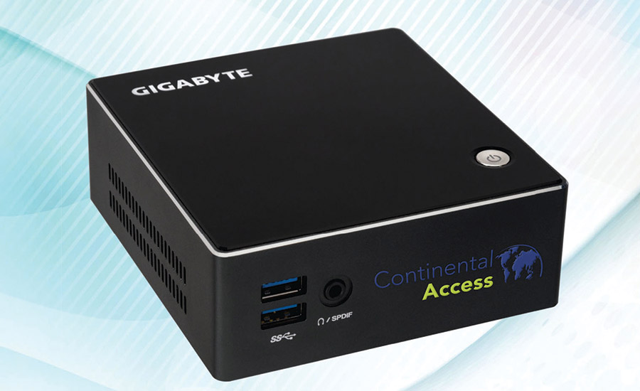 Continental's access control integration appliance: CA-AIA