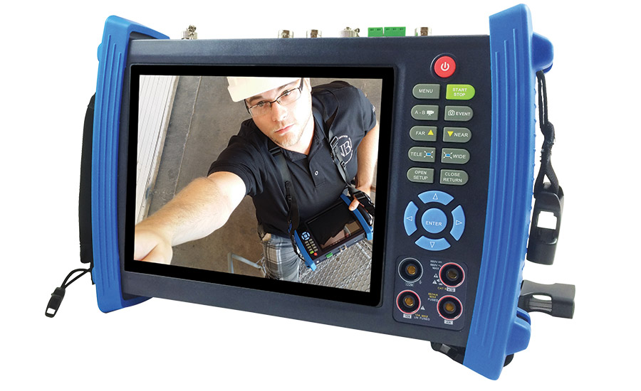 SecurityTronix' CCTV tester and video monitor installation tool, the ST-HDoC-TEST-MM