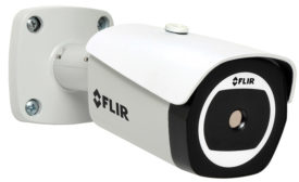 FLIR TCX Mini Bullet; bullet camera, high contrast thermal video, thermal video, VMD, video motion detection