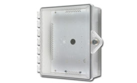 Heated Type 4X: STI-7520; polycarbonate enclosure, heated enclosure, radiant heat