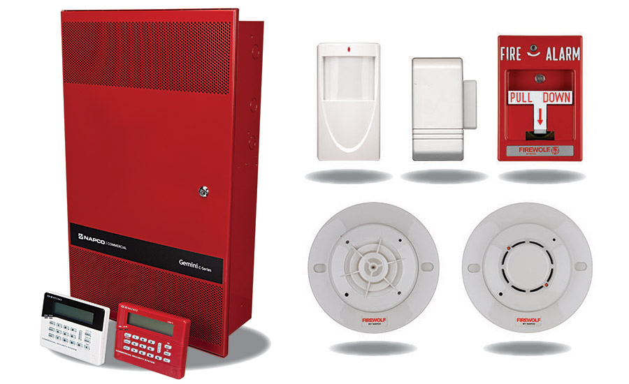 New generation combination fire and security panels