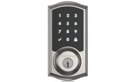 Wireless Locks Compatible With Home Automation Platform; smart home, wireless technology