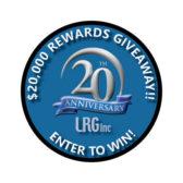 LRG 20th Anniversary Logo