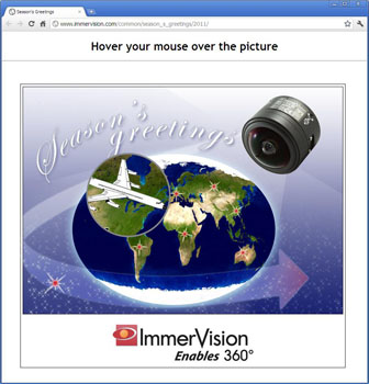 Immervision e-card