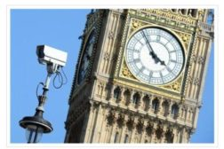 Big Ben w/ Security Camera