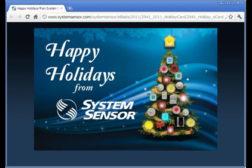 System Sensor e-card