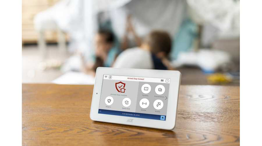 Adt Home Security Systems >> ADT Unveils New Command & Control Security System at CES ...
